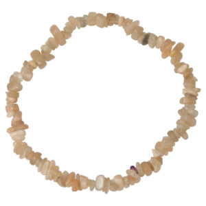 Maansteen Splitarmband