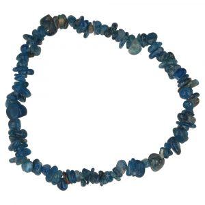 Blauwe Apatiet Armband Split