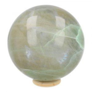 Groene Maansteen Bol 77mm