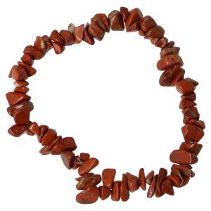 Rode Jaspis Armband Split