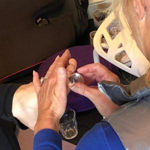 Workshop voetmassage met edelstenen