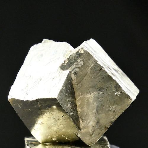 Mooi formaat pyriet brokje ruw van ca 2,5-3cm groot uit Spanje