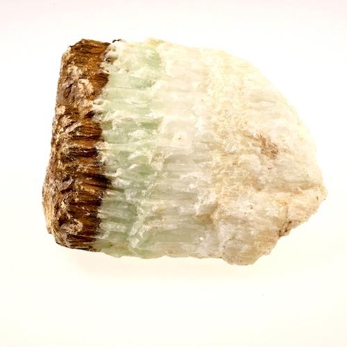 Bosnische calciet ruw, gevonden nabij de piramides in Bosnie