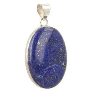 Lapis Lazuli Hanger In Zilver 'LL2'