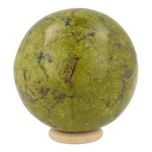 Groene Opaal Bol 66mm