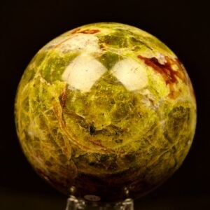 Groene Opaal Bol 90mm
