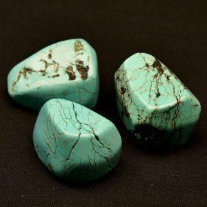 Turquoise Gepolijst