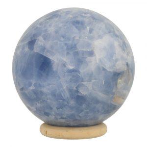 Blauwe Calciet Bol 70mm