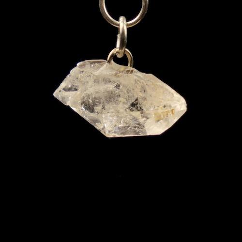 Herkimer diamant hanger met oogje