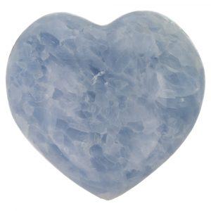 Blauwe Calciet Hart 96mm