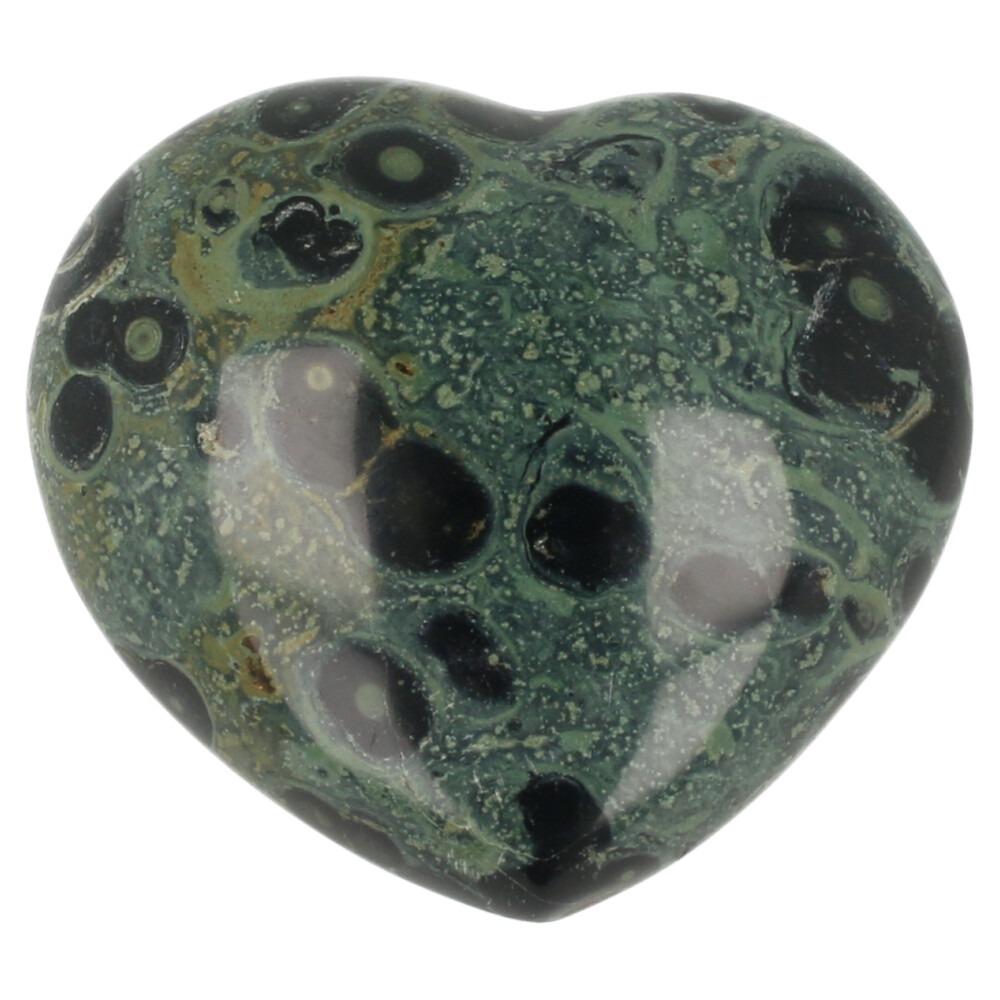 Kabamba jaspis hart met breedte van 8cm uit Madagaskar