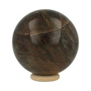 Zwarte Maansteen Bol 66mm-1