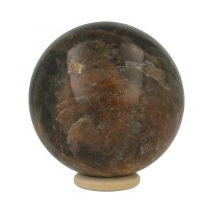 Zwarte Maansteen Bol 69mm