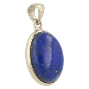 Lapis Lazuli Hanger In Zilver 'LL4'