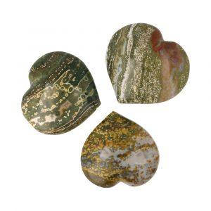 Oceaanjaspis Hart 5,5cm