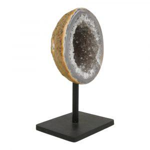 Agaat Geode Op Standaard 'I'