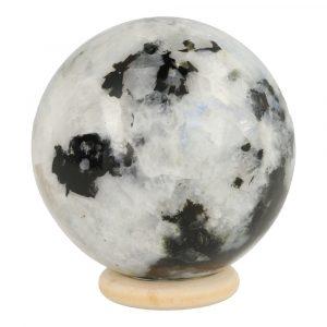 Witte Maansteen Bol 55mm 'A'