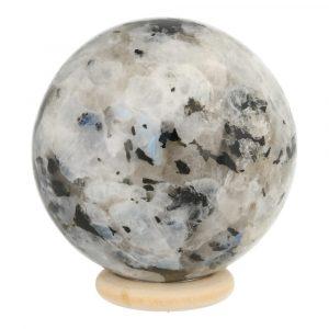 Witte Maansteen Bol 55mm 'B'
