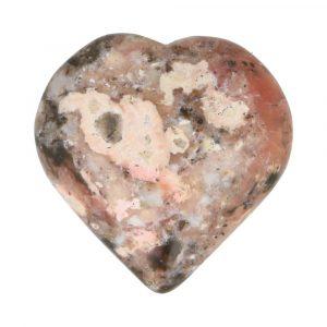 Roze Opaal  Hart 54mm