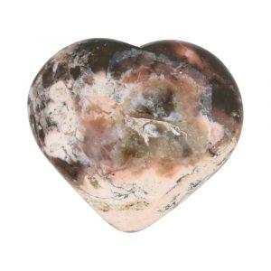Roze Opaal  Hart 59mm