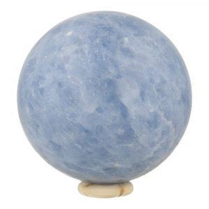 Blauwe Calciet Bol 76mm