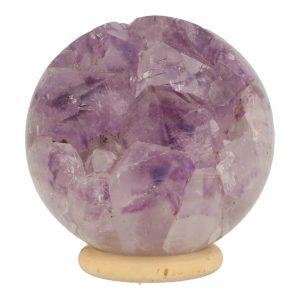 Amethist Geode Bol 68mm